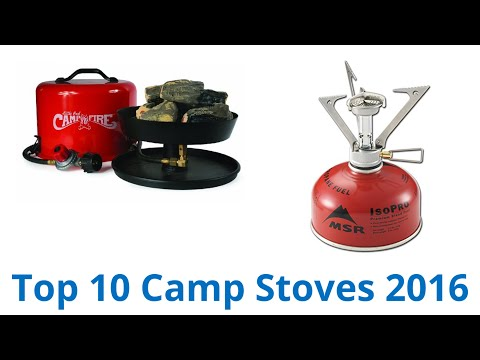 10 Best Camp Stoves 2016