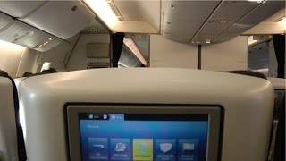 777-300ER British Airways Inflight Entertainment and Inflight Maps System