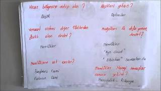 KPSS TARİH TEKRAR /// TÜRK İSLAM TARİHİ