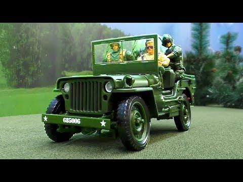 Мультфильм про игрушечных солдатиков