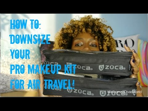 How To: Condensing Your Makeup Artist Kit For Travel
