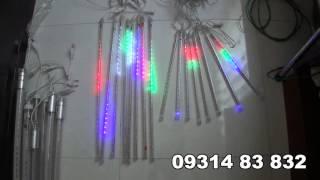 Đèn LED trang trí sao băng rơi loại ống lớn & ống nhỏ