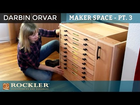 Cabinet with Dovetail Drawers and a Secret Drawer | Darbin Orvar
