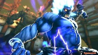 Ultra Street Fighter 4 - Akuma 60FPS Gameplay Playthrough + Secret Shin Oni Boss Fight