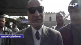 بالفيديو.. رئيس «العربى الاشتراكى» أثناء تشييع جثمان شهيد «ميت عاصم»: «لن ينتصر الإرهاب»