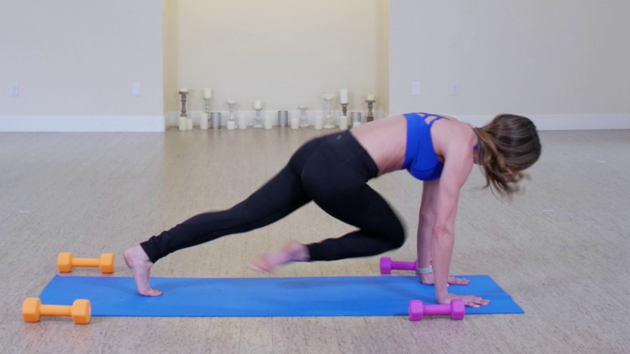 Total Body Yoga Sculpt 30min Weights Optional Youtube