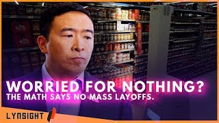 Automation DOES NOT Cause Mass Layoffs! Andrew Yang's Message Questioned By Media