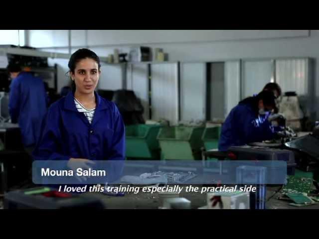 Projet Greenchip (Partenariat entre l'association Al Jisr et la societé MANAGEM)