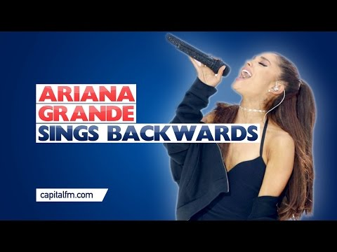 Ariana Grande Sings Backwards