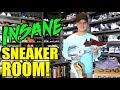 MY SNEAKER ROOM REVEAL! + MY ENTIRE SNEAKER COLLECTION! 2018 HYPEBEAST SNEAKER ROOM TOUR