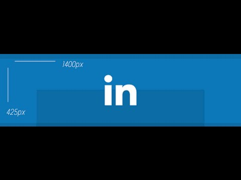 How to add a background photo to your LinkedIn profile - YouTube