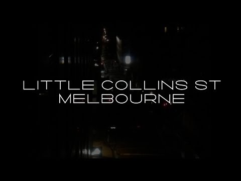 Little Collins St Time Lapse