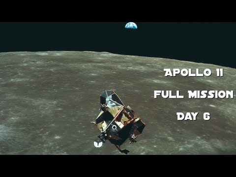 Apollo 11 - Day 6 (Full Mission)