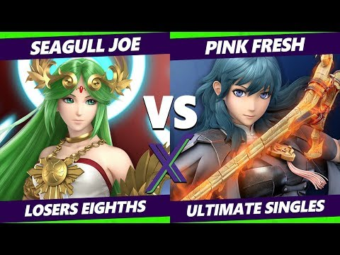 S@X 341 Losers Top 8 - Seagull Joe (Palutena) Vs. Pink Fresh (Byleth) Smash Ultimate - SSBU