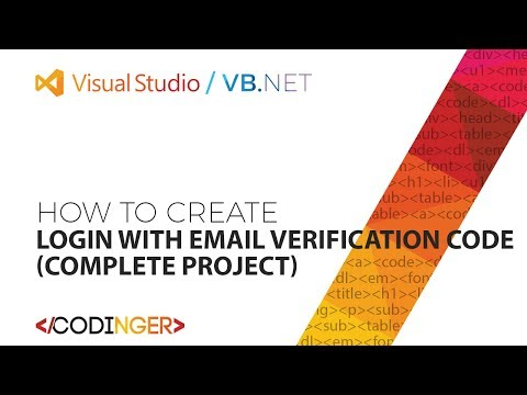 VB NET - Login with Email Verification Code (Complete Project)