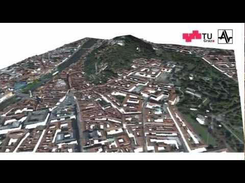 Aerial 3D Reconstruction of Graz, Austria
