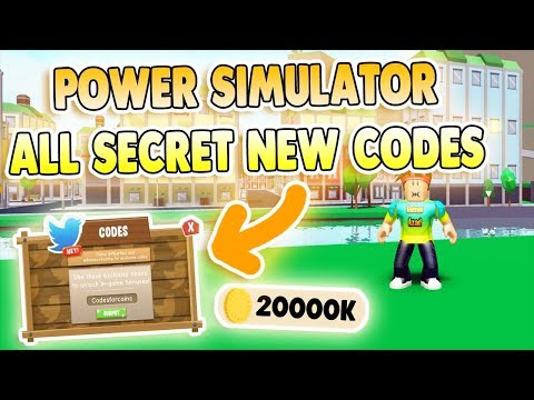 Power Simulator Codes Full List July 2020 We Talk About Gamers