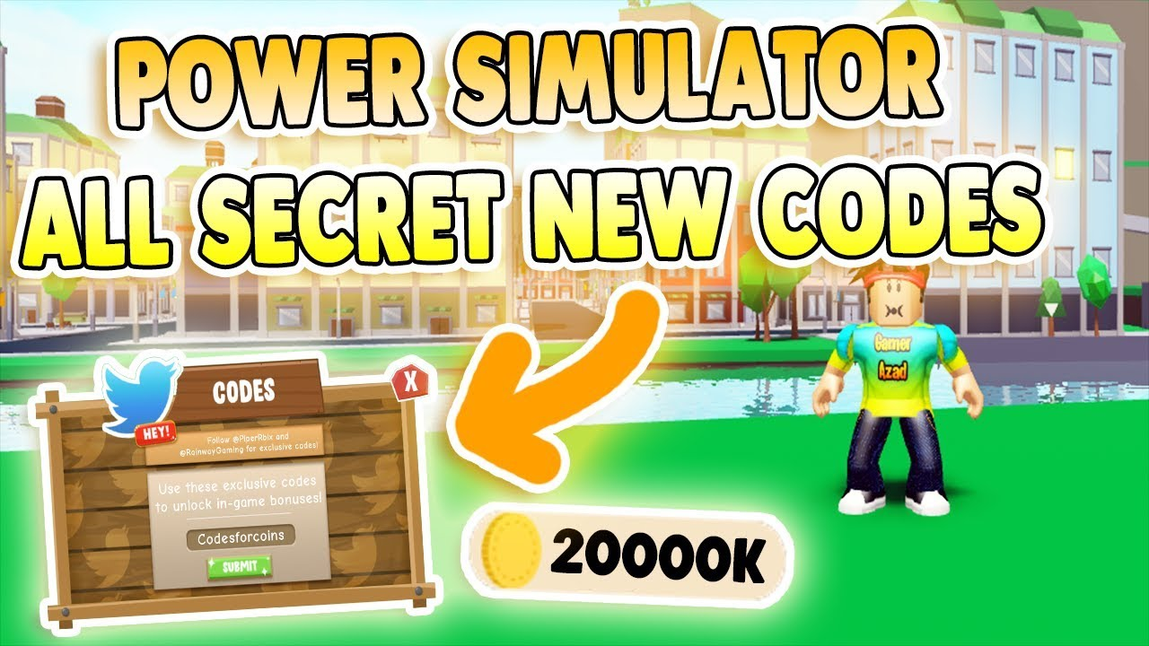 Power Simulator Codes – Roblox (September 2019) – Mejoress