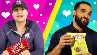 People Swap Snacks On Their First Date