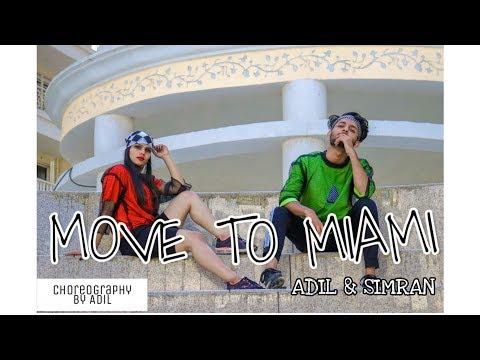 MOVE TO MIAMI | Enrique Iglesias x Pitbull | Adil & Simran |