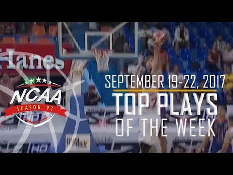 Top 10 Plays | September 19-22 | NCAA 93 Men