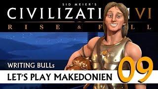 Let's Play: Civilization VI - Makedonien (09) | Rise & Fall [Deutsch]