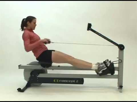 concept2 dynamic indoor rower youtube. Black Bedroom Furniture Sets. Home Design Ideas