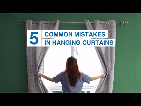 5 Common Mistakes in Hanging Curtains | MF Home TV
