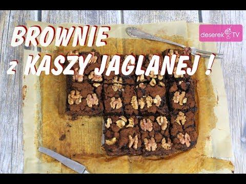 Ciasto Dietetyczne Brownie Z Kasza Jaglana Przepis