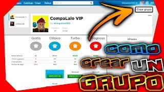 HOW TO CREATE A GROUP IN ROBLOX***👍🤩 2019-2020🤩👍