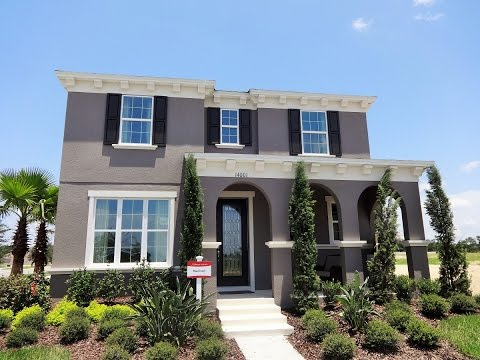 Orchard Hills by Beazer Homes in Winter Garden - Harrison Model New Home