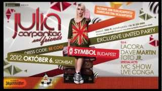 Julia Carpenter & friends@Symbol Budapest October 6.Saturday