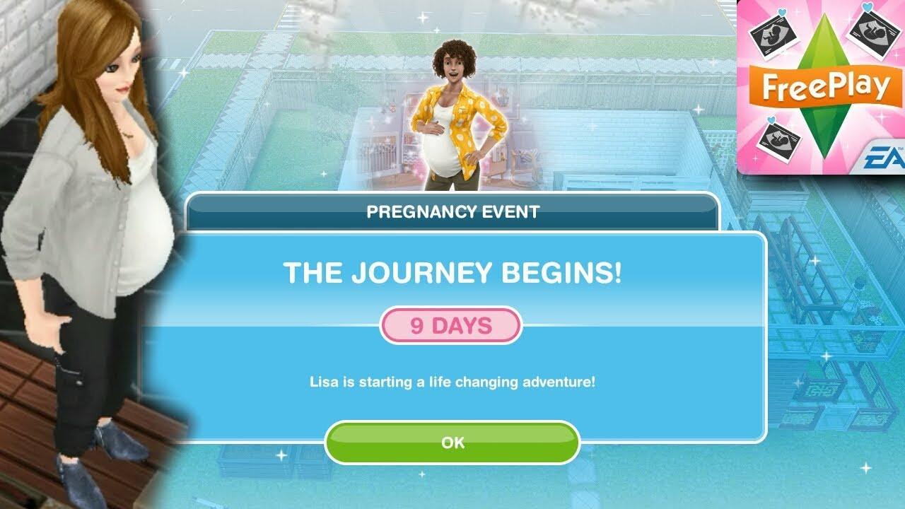 sims freeplay pregnancy update