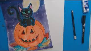 Kitten in a Pumpkin Part 1