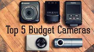 Top 5 Budget Dash Cameras - 2017 Edition