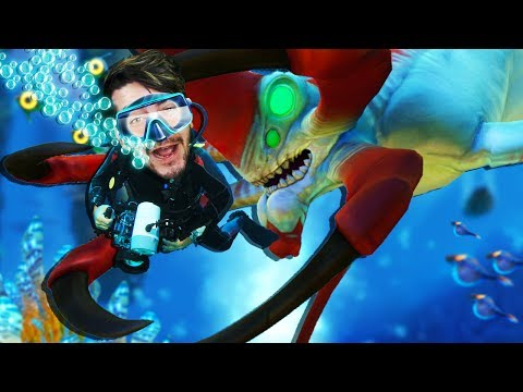 THE SEA IS WILD... & THIS REAPER AIN'T MESSING AROUND 😭- Subnautica UPDATE (Gameplay Funny Moments)