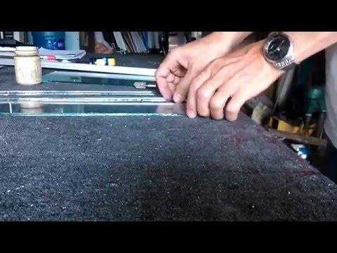 hướng dẫn học cắt kính bằng dao,cơ bản và nâng cao