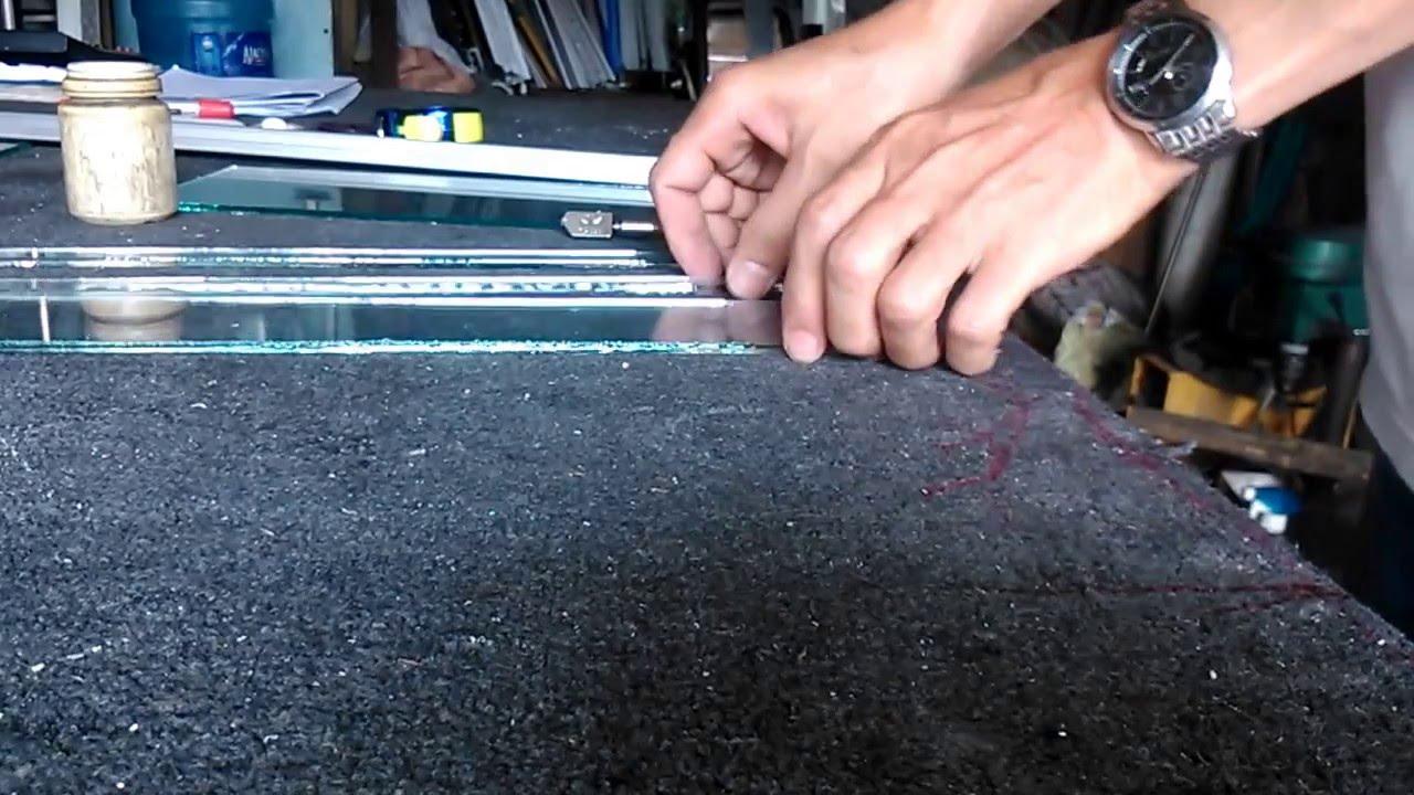 Kết quả hình ảnh cho Hướng dẫn cắt kính cường lực an toàn