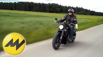 Schwarzes Schaf oder gelungener Power Cruiser?   Harley Davidson Night Rod   Motorvision
