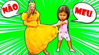 MAMÃE E HELOÍSA QUEREM O MESMO VESTIDO! both want the same dress