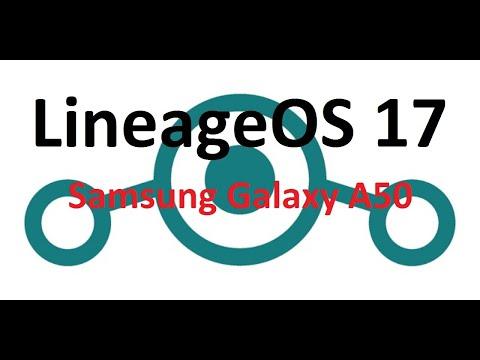LineageOS 17.1 on Samsung Galaxy A50