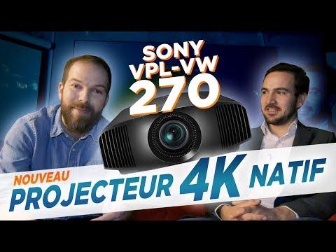 COBRA TV : On Vous Dit TOUT Sur Le Dernier Vidéo-projecteur 4K Natif SONY VPL VW270