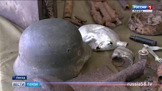 Пензенские поисковики представили на выставке найденное оружие военных лет