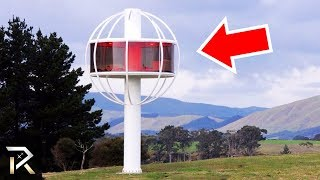 You'll Be Amazed At How This Strange House Was Built! But There's Only ONE Way To Get To It..