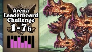 Hearthstone: Arena Leaderboard Challenge 1-7 - The Skeletal Trio's Journey - Part 2 (Rogue Arena)