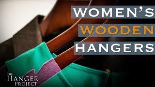 Women's Wooden Hangers | The Runway Collection