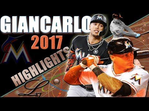 Every Giancarlo Stanton Home Run from the 2017 MLB Season ᴴᴰ