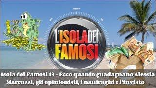 Isola dei Famosi - Ecco quanto guadagnano Alessia Marcuzzi,gli opinionisti,i naufraghi e l'inviato