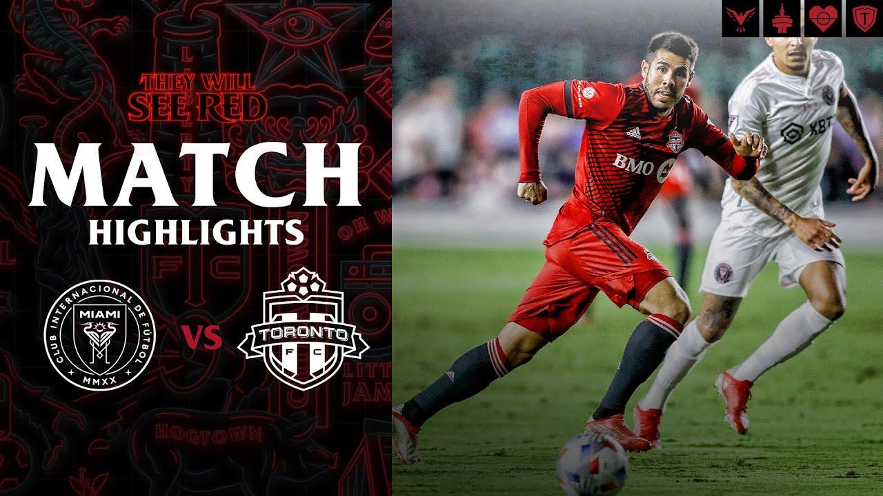 MATCH HIGHLIGHTS |  Inter Miami CF vs Toronto FC - October 20, 2021
