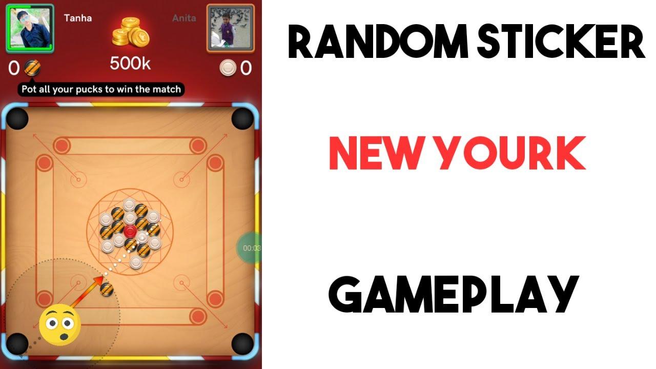 Random Sticker New Yourk Squre Gameplay Without Lulubox || Random Sticker #1